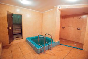 бассейн в сауне